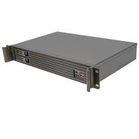 """Серверный корпус 1.5U NR-R152 (MiniITX, 2x3.5""""hotswap SATA, 2x2.5""""int, 280mm) черный, NegoRack"""
